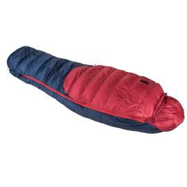 Inovovaný velmi teplý a kvalitně zpracovaný zimní péřový spacák Climber II 1000 Malachowski